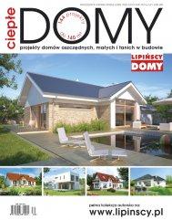 Projekty domów oszczędnych, małych i tanich w budowie w jubileuszowym katalogu Ciepłe Domy 30