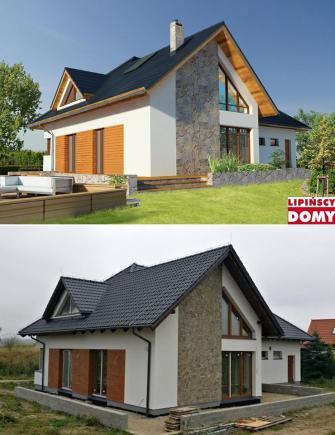 Zdjęcia domów na Facebooku