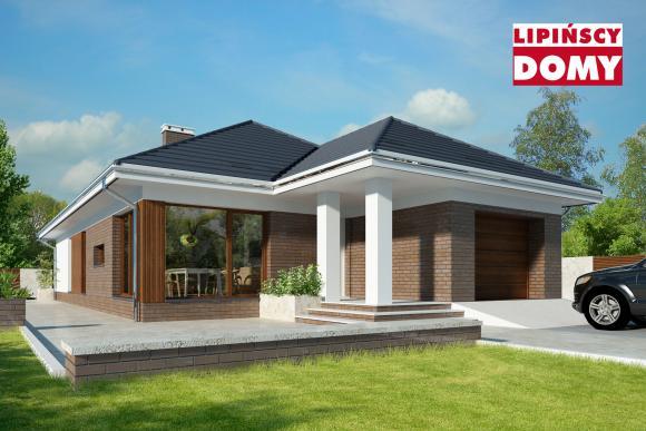 Nowoczesne i energooszczędne projekty domów parterowych już w nowościach!