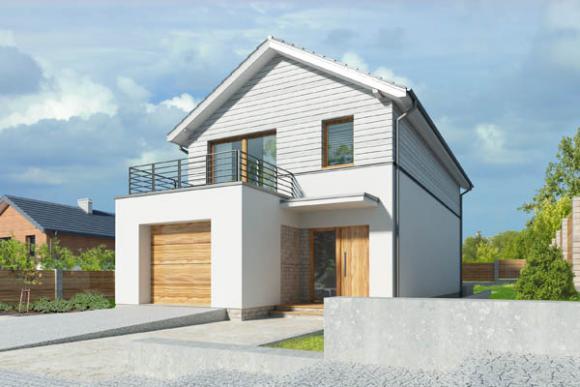 Czerwcowa promocja projektów domów na wąską działkę