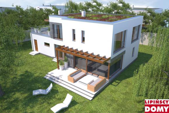 projekt domu Belfast II dcp268a Lipińscy Domy