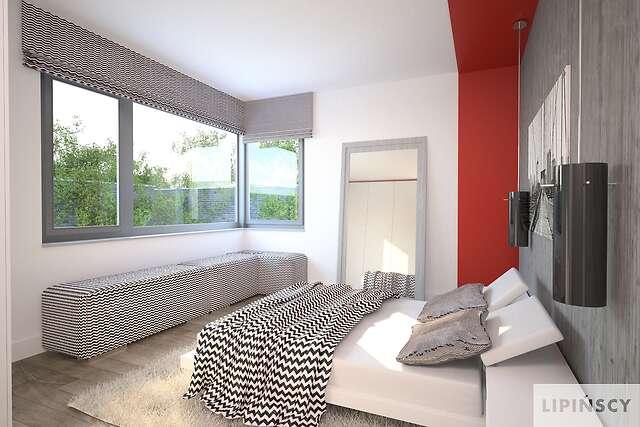 Zobacz powiększenie wizualizacji wnętrza - projekt Bastia