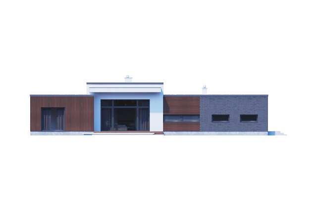 Zobacz powiększenie elewacji frontowej - projekt Vitrac