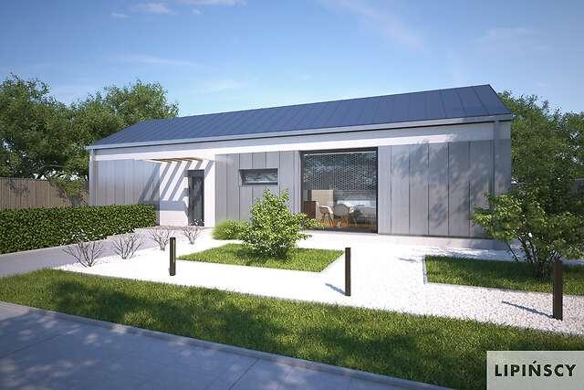 Projekt domu - DCB134a-Praia II