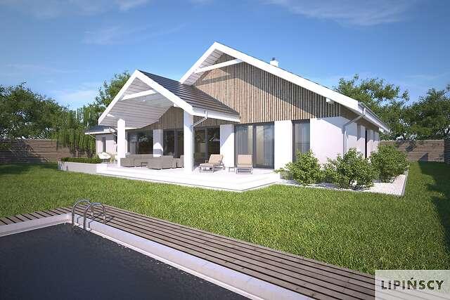 Zobacz powiększenie wizualizacji ogrodowej - projekt Noordwijk