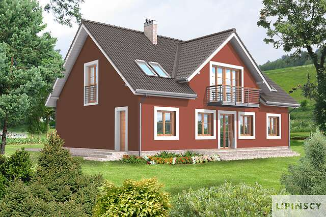 Zobacz powiększenie wizualizacji ogrodowej - projekt Rotterdam