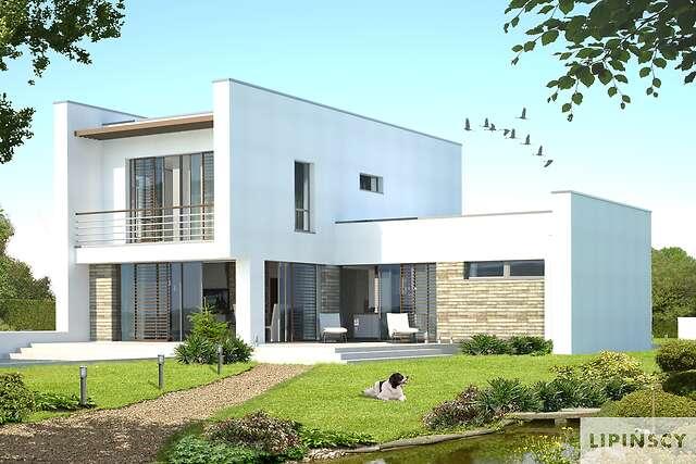 Zobacz powiększenie wizualizacji ogrodowej - projekt Cork