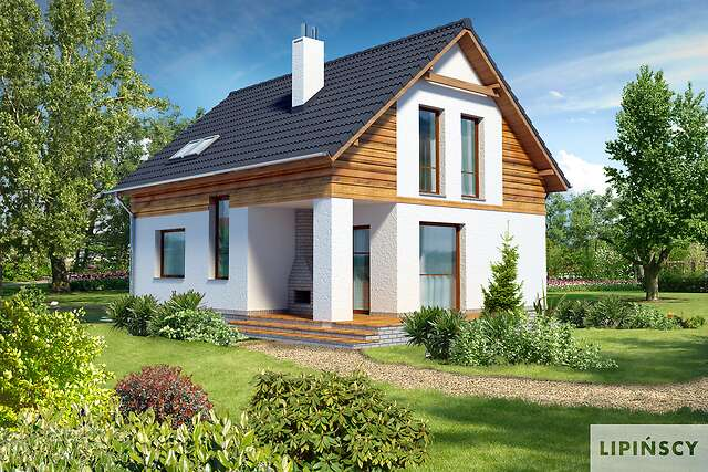 Zobacz powiększenie wizualizacji ogrodowej - projekt Cottbus II