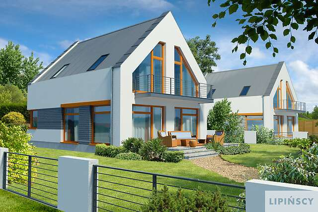 Zobacz powiększenie wizualizacji ogrodowej - projekt Ulm