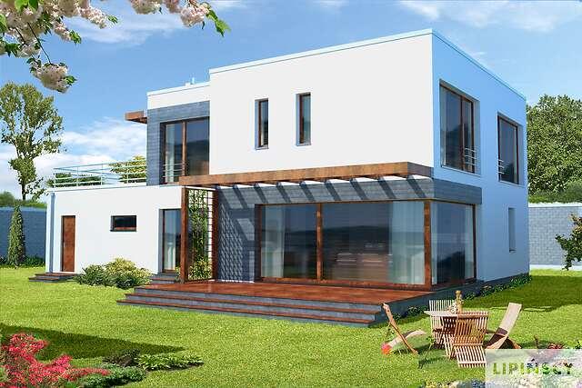 Zobacz powiększenie wizualizacji ogrodowej - projekt Belfast II
