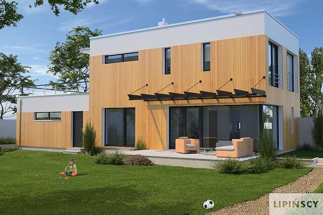 Zobacz powiększenie wizualizacji ogrodowej - projekt Belfast VI
