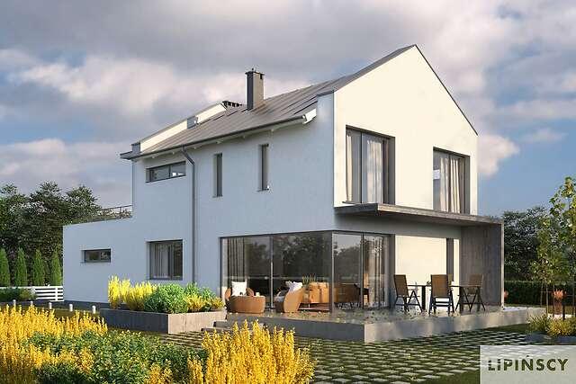 Zobacz powiększenie wizualizacji ogrodowej - projekt Belfast IX
