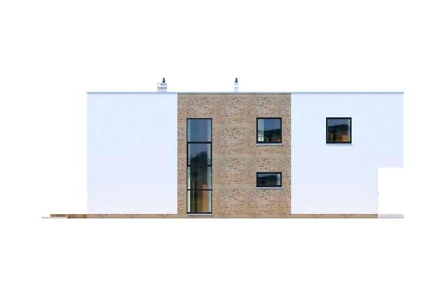 Zobacz powiększenie elewacji bocznej lewej - projekt Delft III
