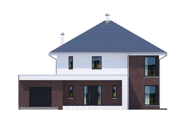 Zobacz powiększenie elewacji frontowej - projekt Carrara II