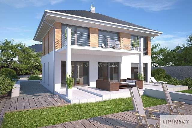 Zobacz powiększenie wizualizacji ogrodowej - projekt Carrara IV