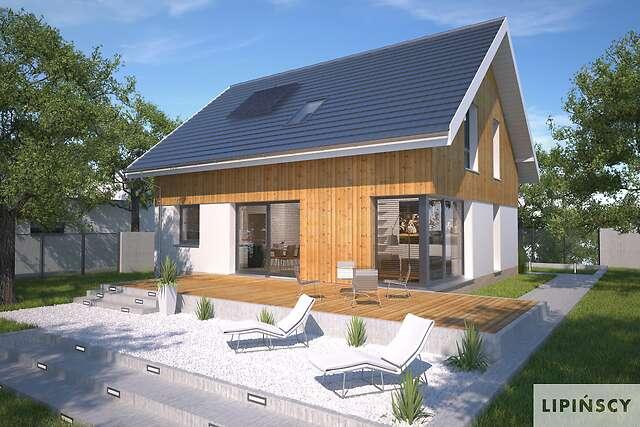 Zobacz powiększenie wizualizacji ogrodowej - projekt Mito