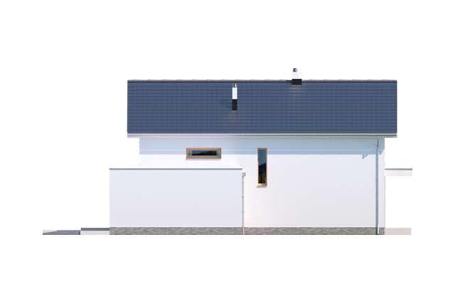 Zobacz powiększenie elewacji bocznej prawej - projekt Bergamo