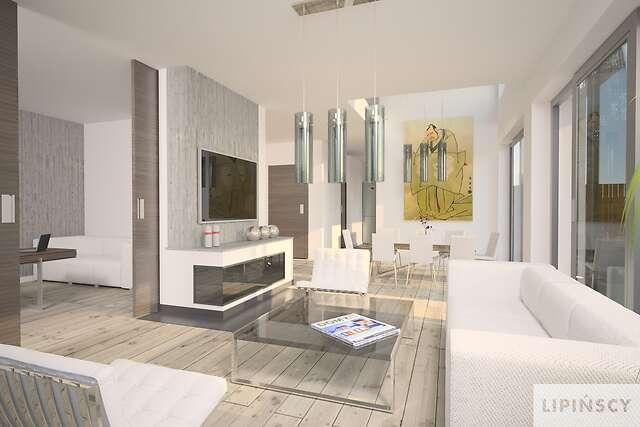 Zobacz powiększenie wizualizacji wnętrza - projekt Bergamo
