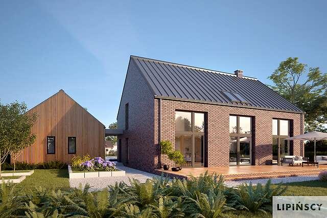 Zobacz powiększenie wizualizacji ogrodowej - projekt Lund