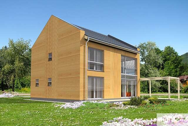 Zobacz powiększenie wizualizacji ogrodowej - projekt Koge II