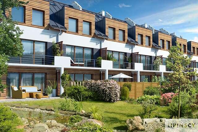 Zobacz powiększenie wizualizacji ogrodowej - projekt Belfort