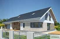 Projekt domu - LDP03a-Pireus II Pasywny 3a
