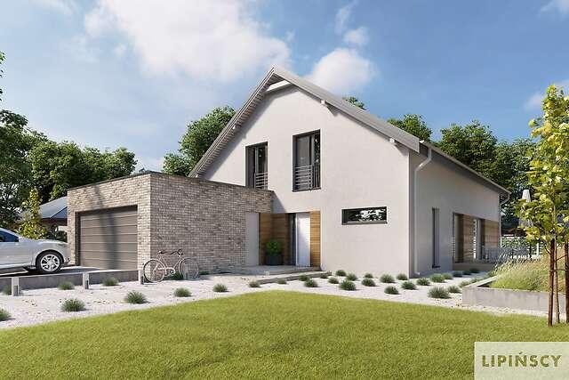 Zobacz powiększenie wizualizacji frontowej - projekt Sligo Pasywny 9