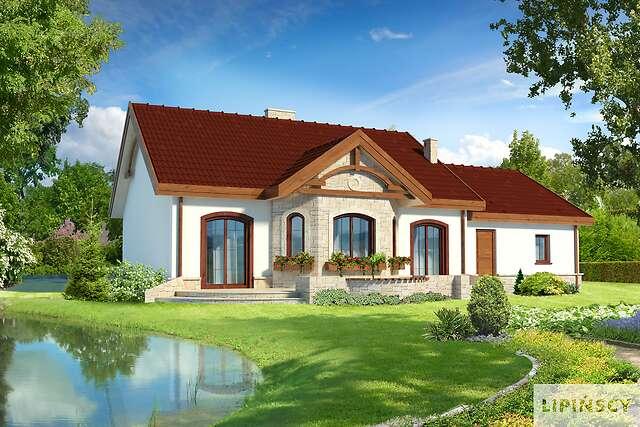 Zobacz powiększenie wizualizacji ogrodowej - projekt Sofia III