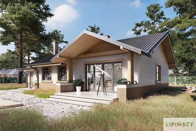 Zobacz powiększenie wizualizacji ogrodowej - projekt Aspen III