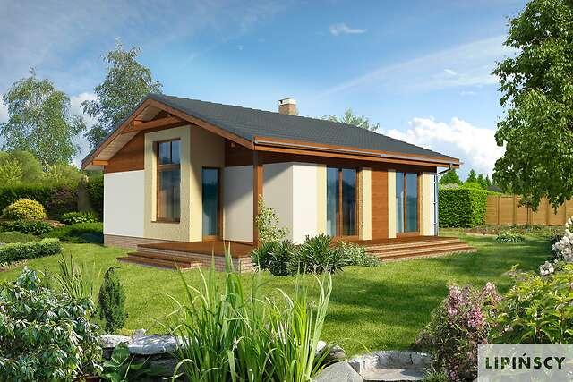 Zobacz powiększenie wizualizacji ogrodowej - projekt Bibione