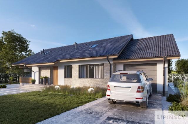 Projekt domu - LMB115b-Arosa III