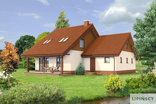 Zobacz powiększenie wizualizacji ogrodowej - projekt Hannover II