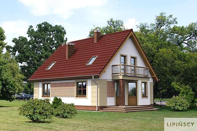Zobacz powiększenie wizualizacji ogrodowej - projekt Saloniki II