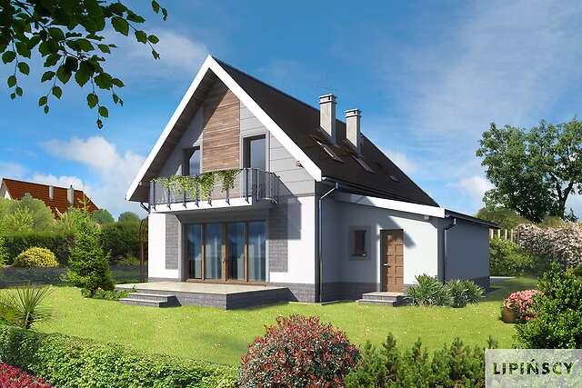 Zobacz powiększenie wizualizacji ogrodowej - projekt Malmo II