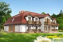 Projekty domów jednorodzinnych - Zobacz projekt - Budynek agroturystyczny Ambrowiec