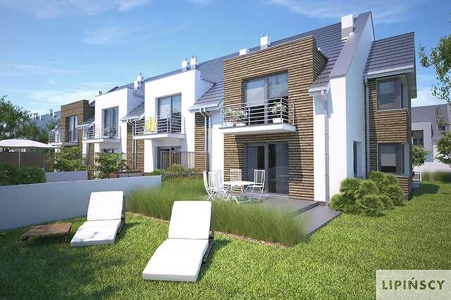 Zobacz powiększenie wizualizacji ogrodowej - projekt Zurych II